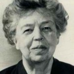 Eleanor Roosevelt Head and Shoulders